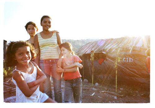 land reform encampment in brazil