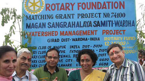 rotary foundation watershed management project