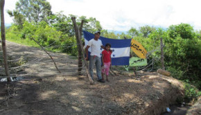 COPINH blockade rio blanco