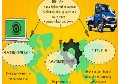 biogas infographic selection