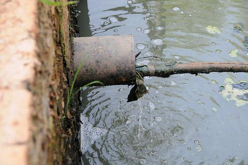 wastewater drain
