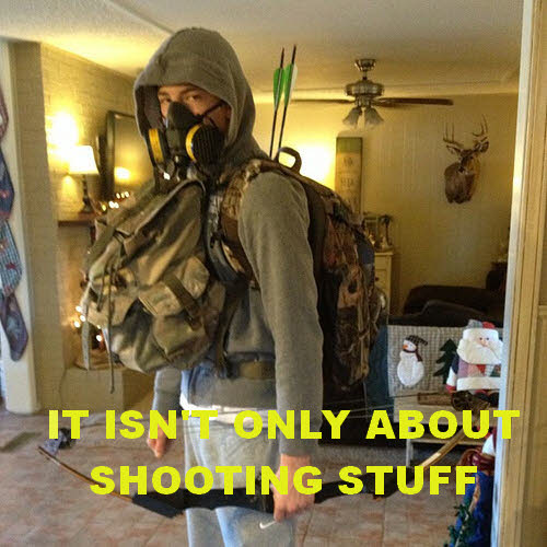 prepper - it isn't just about shooting stuff