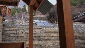 solar panels monastery
