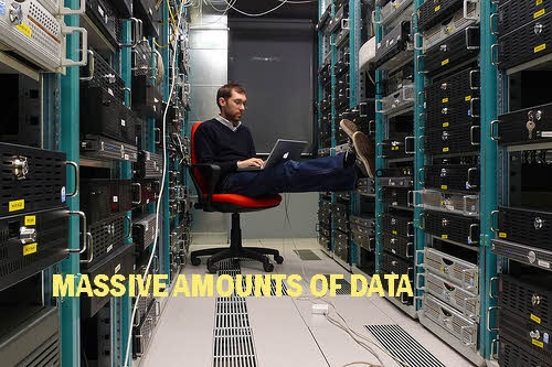 data center worker