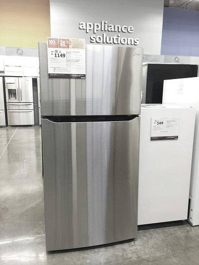 lg bottom energy efficient fridge