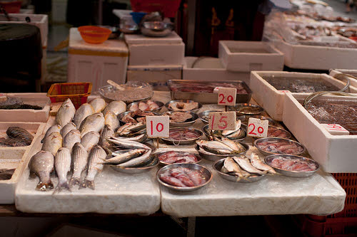 is that illegal fish at the market?