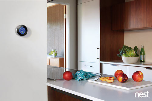 green tech for the home - the nest learning thermostat