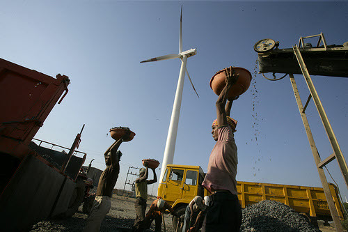 wind turbine in india