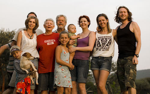 even a large family can reduce its carbon footprint