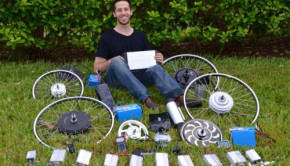 diy electric bike parts