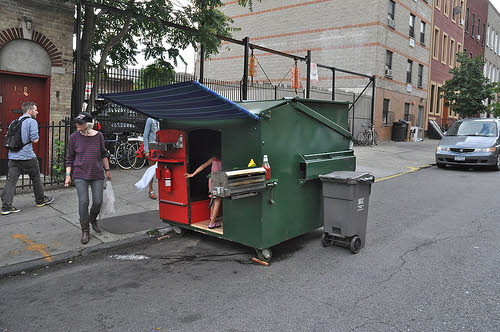 dumpster diving builder gregory kloehn dumpster home