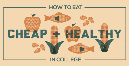 how to eat healthy in college