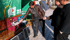 solar power jukebox china