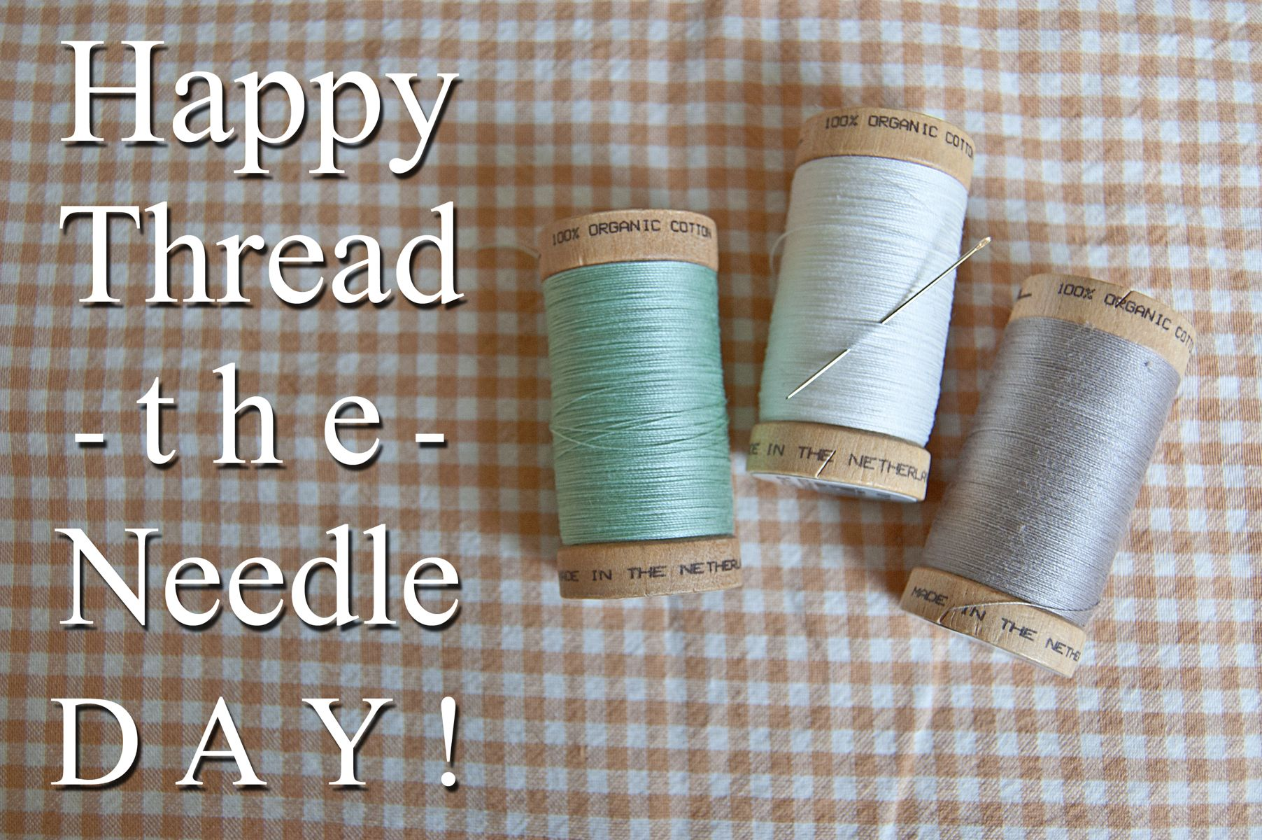 reduce textile waste on thread the needle day