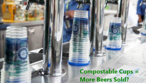 concert venues that use compostable cups may sell more beer