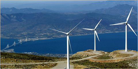 Wind Energy Opposition: It's Greek to Me…