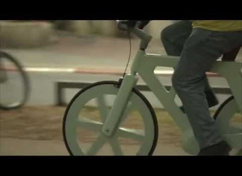 How a Cardboard Bike Could Shrink the Environmental Impact of Bicycling Even Further