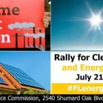 solar power in florida rally announcement