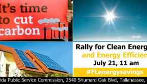 solar power in florida rally announcement