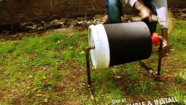 The Cheap Mini Washing Machine that Runs on Foot Power