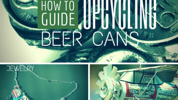 upcycling beer cans into jewelry decor and more