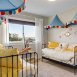 kids room full of whimsy
