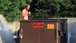 rob greenfield dumpster diving across america