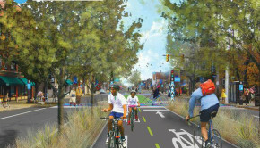 unique take on rails to trails - streetcar lines to bike lanes