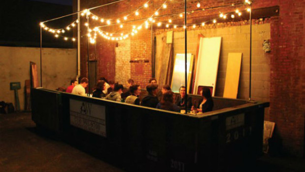 waste food repurposed as gourmet fare at the salvaged supperclub
