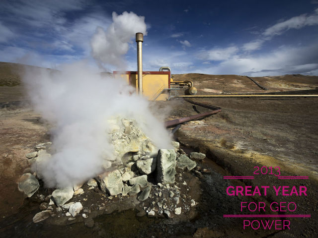 Geothermal Experiences Best Growth Since Great Recession