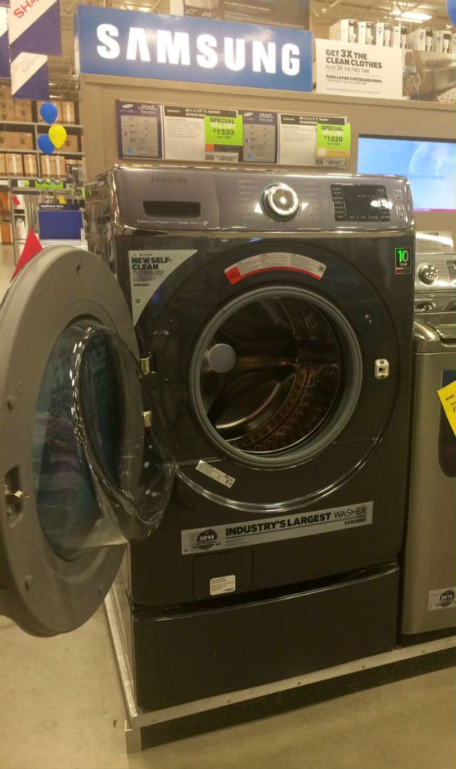 samsumg large capacity washing machine