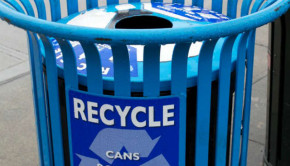 single stream recycling can