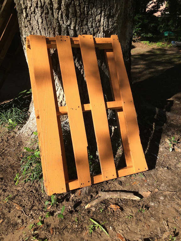 painted pallet