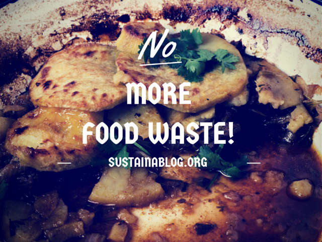 great recession reduces food waste