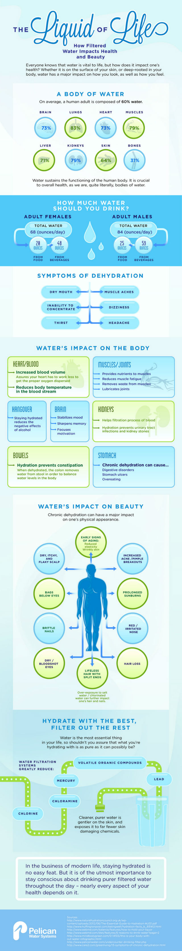 health benefits of water infographic