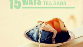 used tea bags
