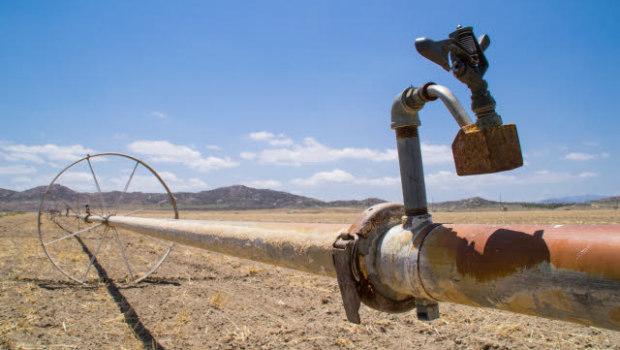 water use limited by drought