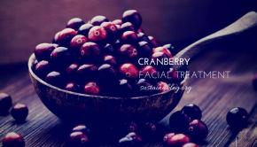 cranberries for home facial treatment