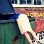 dumpster dive for menu food