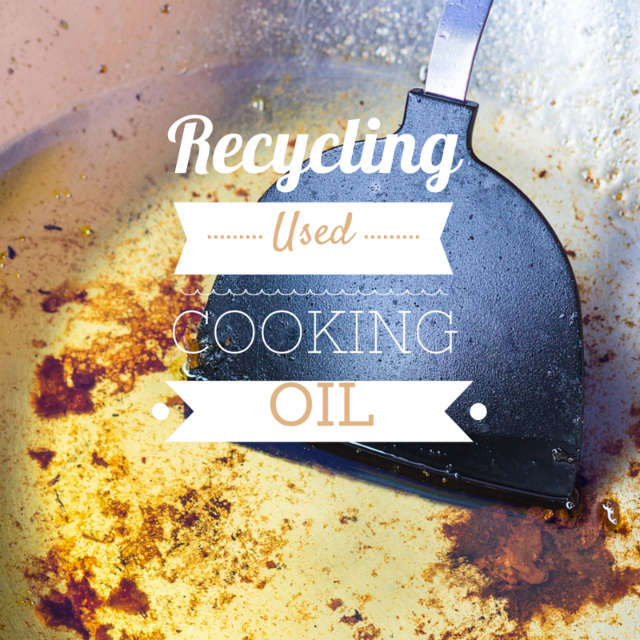 recycling cooking oil