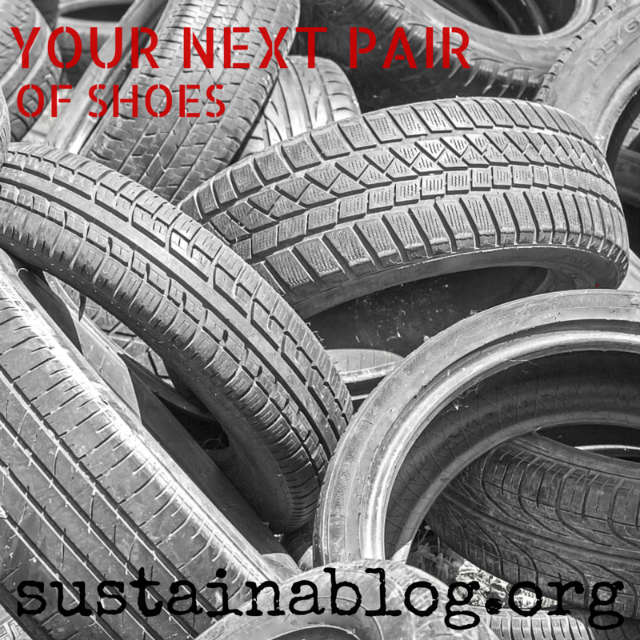 recycling tires into shoes