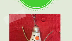 upcycling light bulbs into fun holiday ornaments