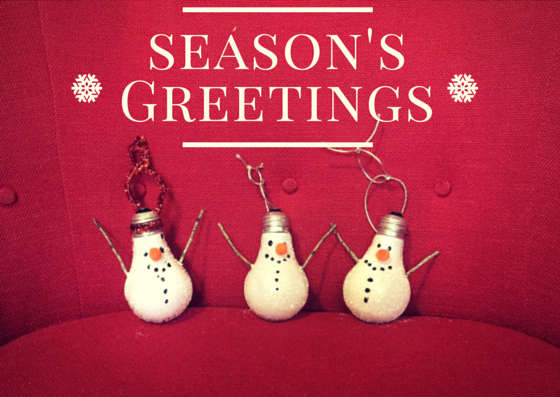 snowbulb holiday ornaments