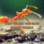 ants are super efficient food waste disposal machines