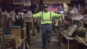nelson molina and his new york dumpster finds museum