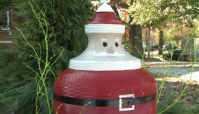 upcycled outdoor christmas decorations