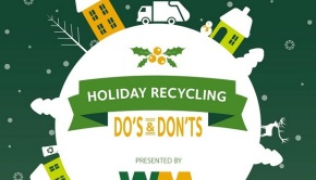 what can you recycle during the holidays