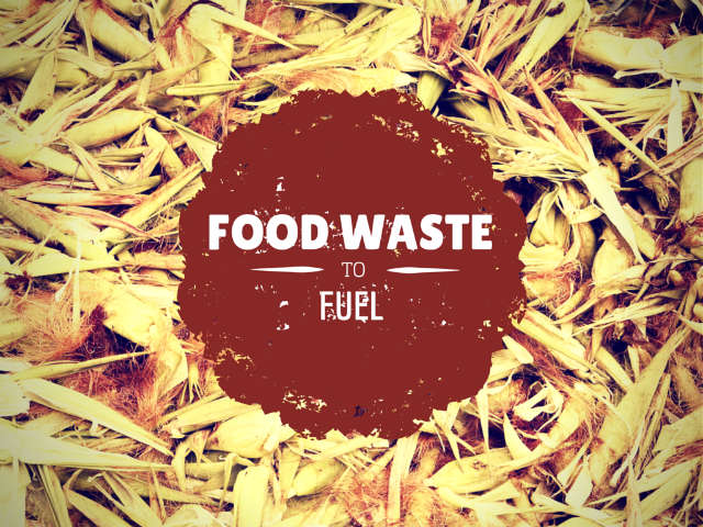 Bioethanol Production From Food Waste (Instead Of From Food)