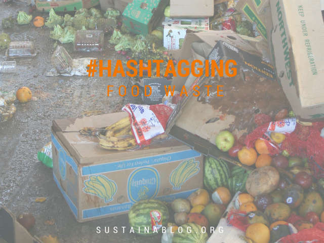 social media campaigns to address food waste