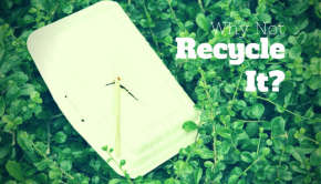 why not recycle expanded polystyrene